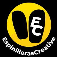 Espinilleras Creative Logo bc